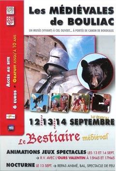 Médiévales de Bouliac 2019