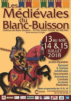 Médiévales de Blanc Buisson 2019