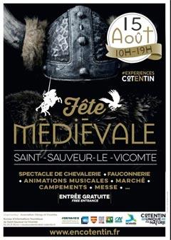 Médiévales de Saint Sauveur le Vicomte 2019